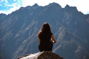Foto sola en Huayna Picchu