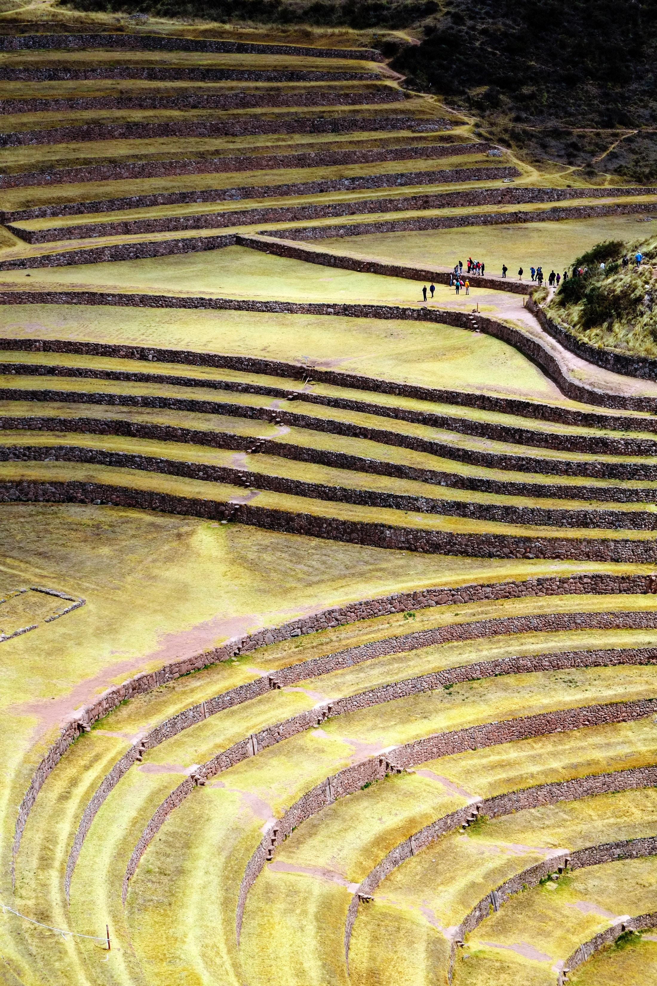 Vista aérea de la reserva arqueológica Photo by Pedro Lastra