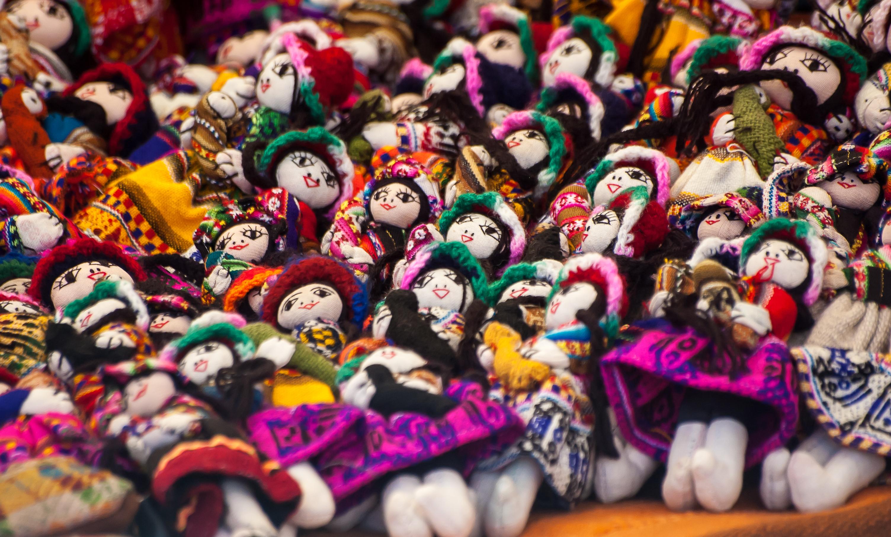 Muñecas tradicionales peruanas
