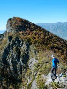 montañismo en el Cerro de la Silla
