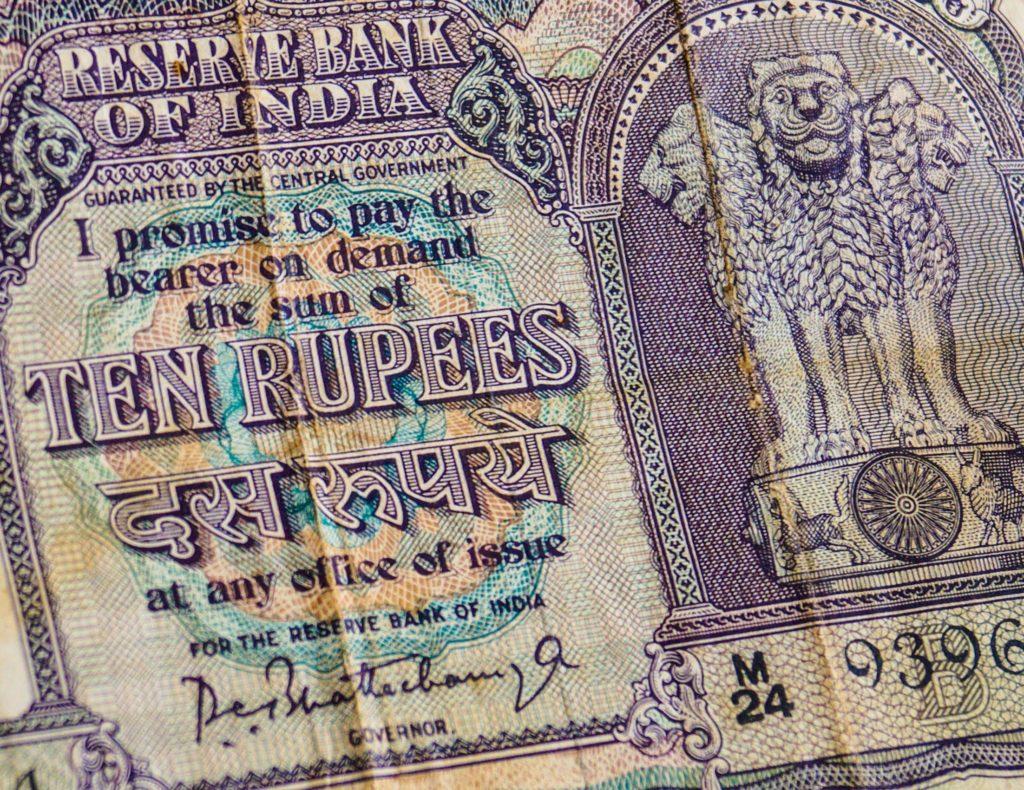 la rupía India