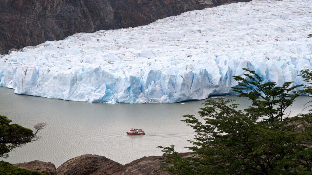 El Glaciar Grey  en el Circuito W