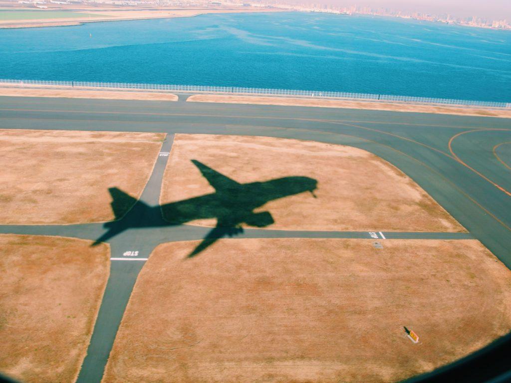 Sombra de avión