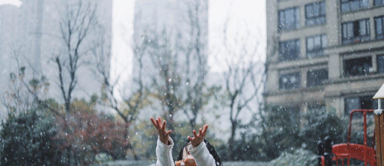 disfrutar la nieve