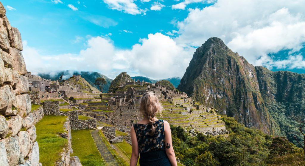 Camino hacia Machu Picchu