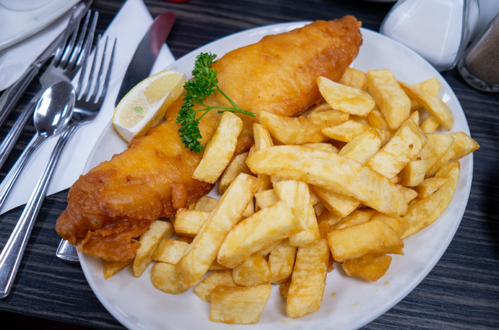 Fish and Chips Nueva Zelanda