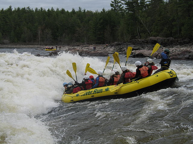 rafting Ottawa, destinos Canadá