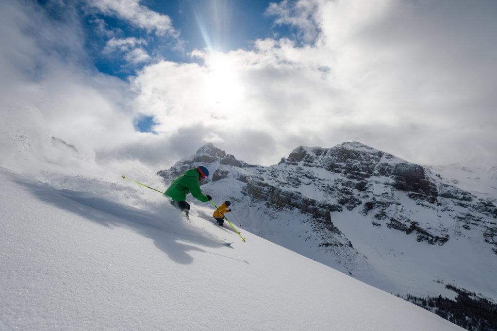 los mejores destinos de esquí en Canadá