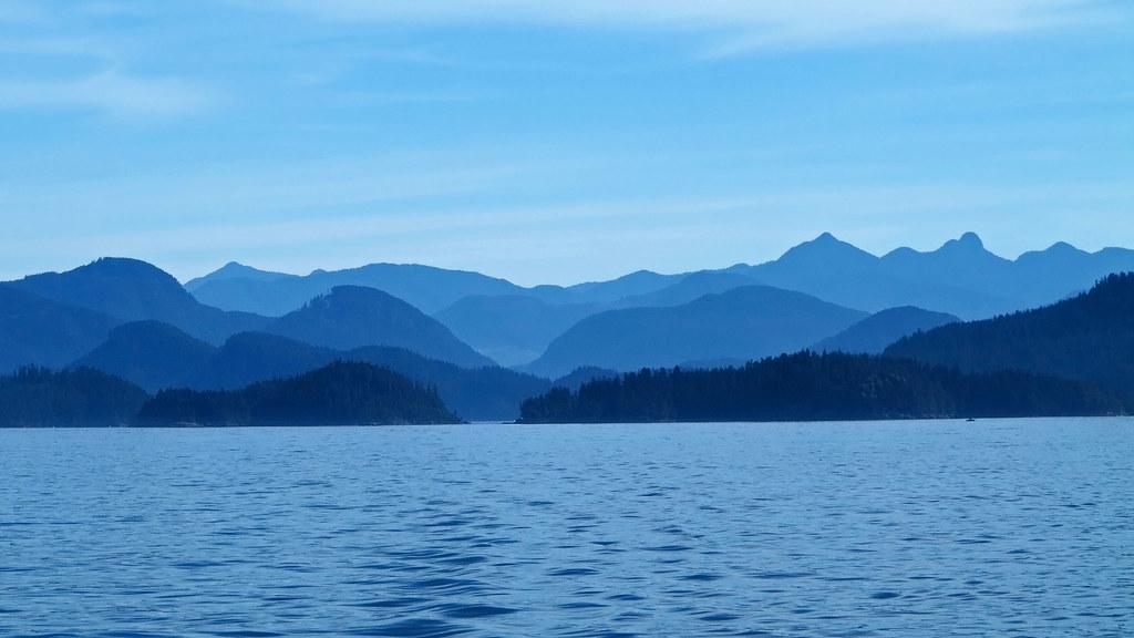 Barkley Sound en la isla de Vancouver