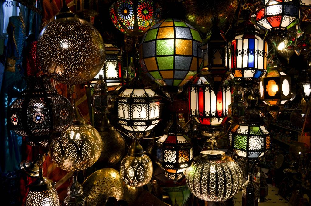 mercado djemaa el fna, marruecos
