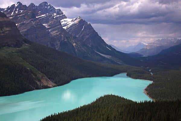 visa para Canadá, lago