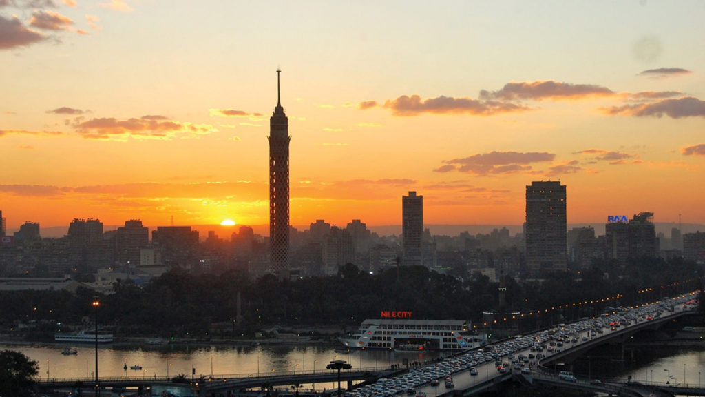 via para Egipto, Cairo