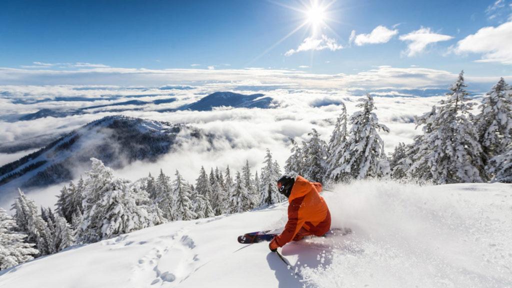 visa para Canadá, esquiar