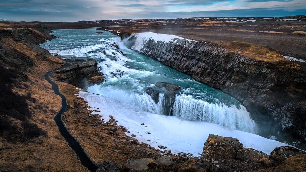 Gulfoss, top 5 lugares turísticos en Islandia