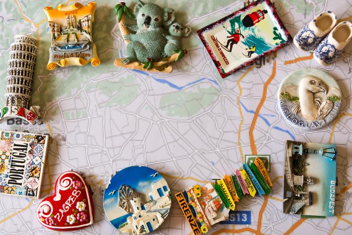 deshacer tu maleta después de un viaje, souvenirs
