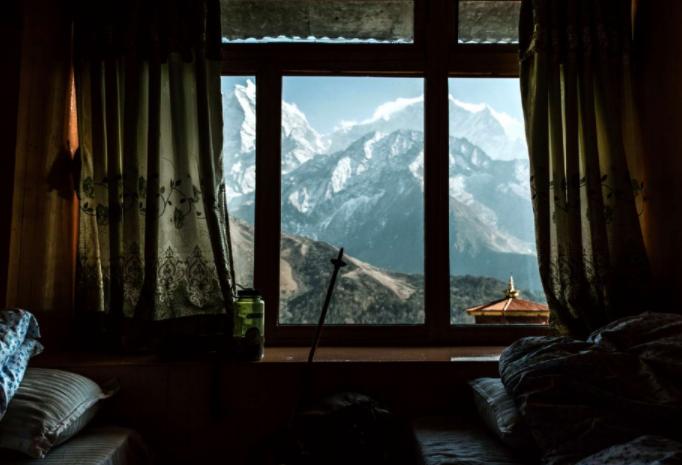 Fotografía tomada por Guillermo Gutiérrez en su viaje a Panboche, Nepal