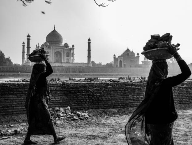 Una de las fotografías tomadas por Guillermo Gutiérrez en su viaje a India