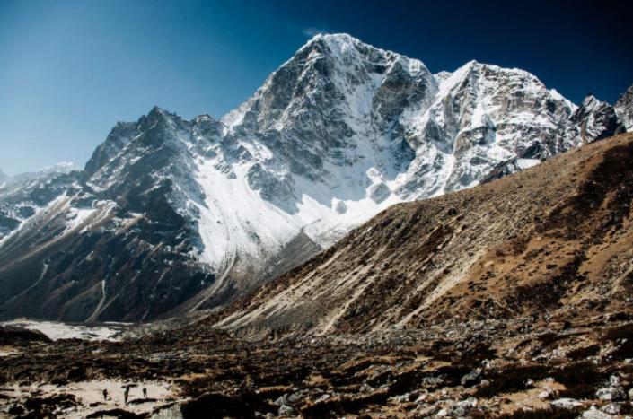 Una de las fotografías tomadas por Guillermo Gutiérrez en su viaje a Taboche, Nepal