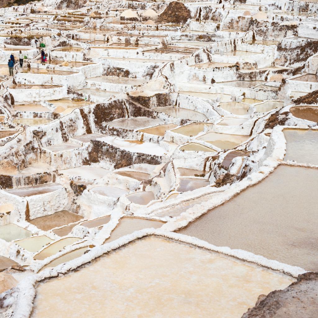 Salineras de Maras, en Perú
