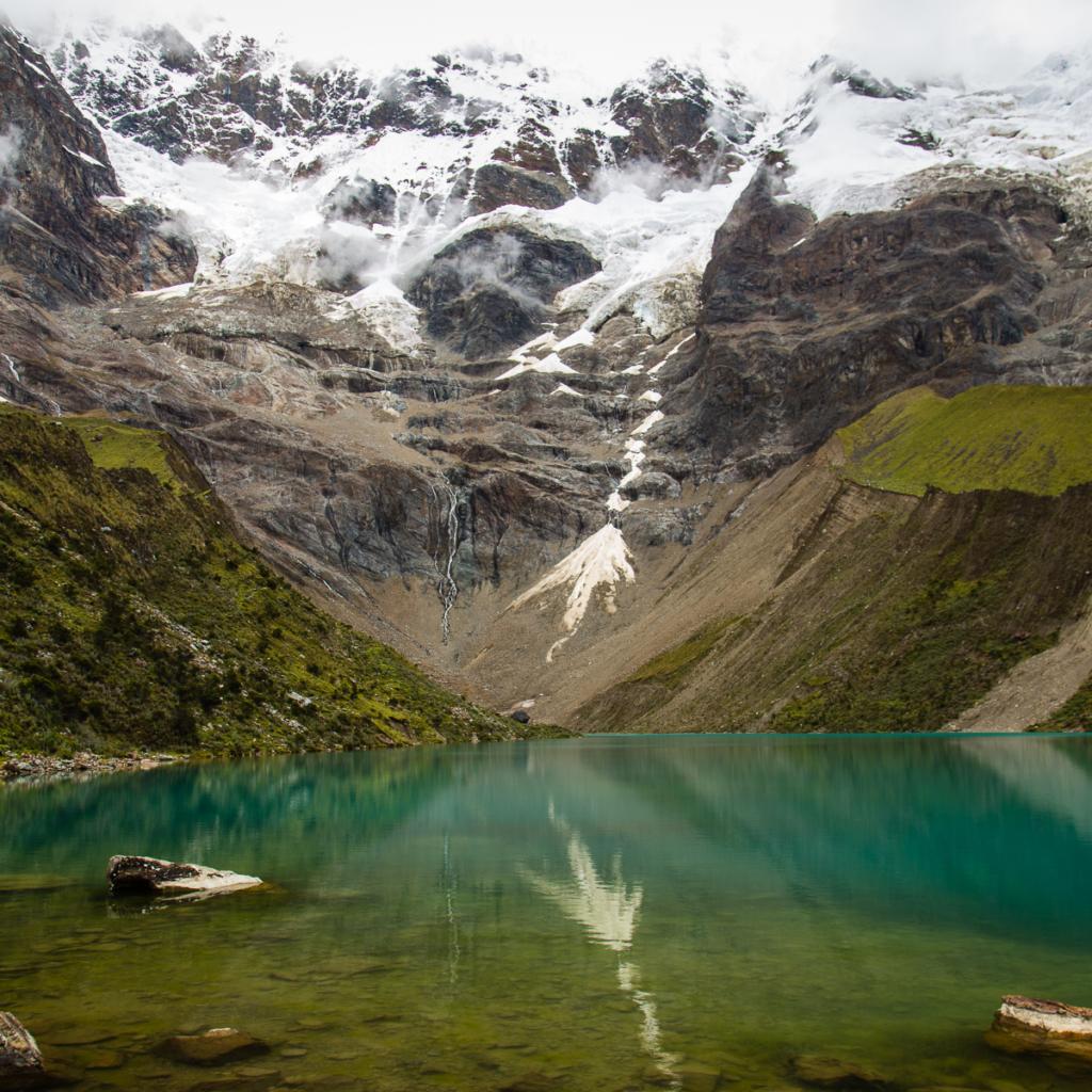 Laguna Humantay en Perú