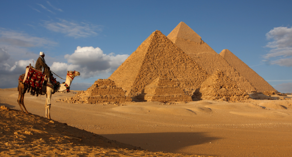 Pirámides de Egipto en Giza