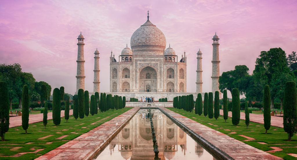 Taj Mahal en India. Un país catalogado como uno de los más baratos del mundo