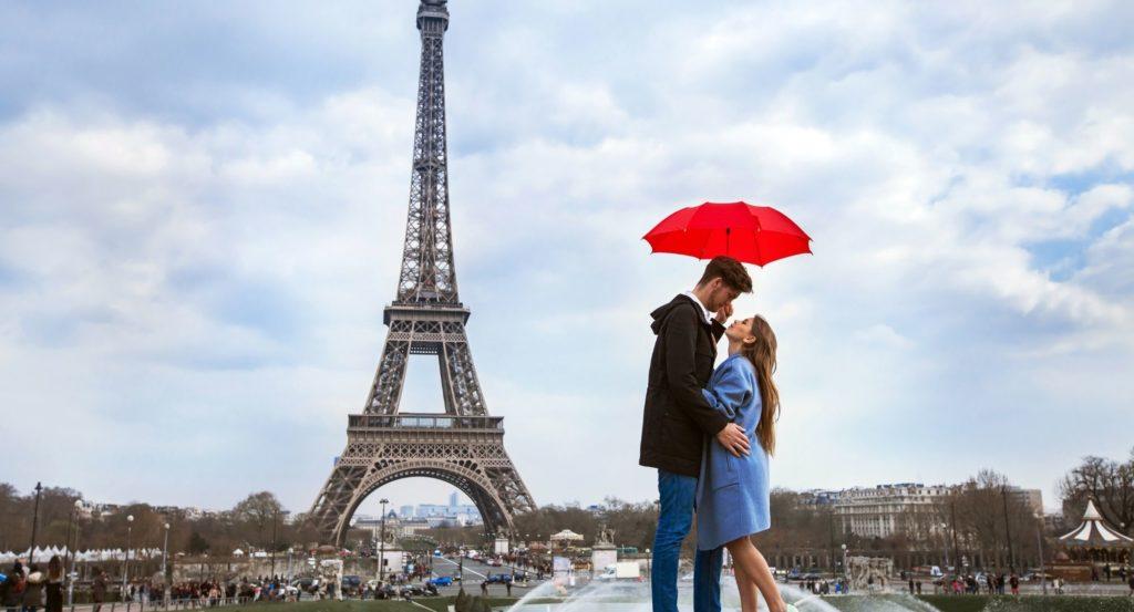 París en pareja