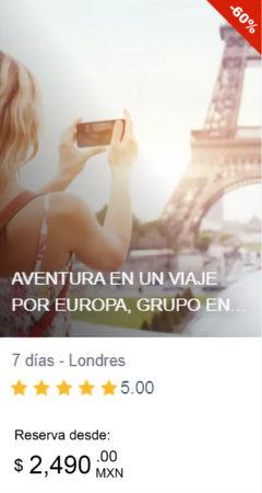 viajes a Europa