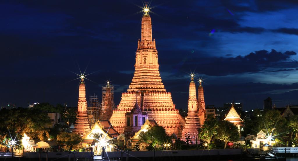 Wat Arun en Tailandia